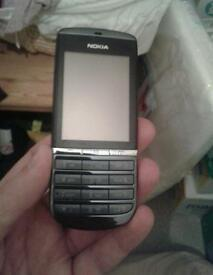 Nokia Asha 300 on 02 working but issue with selecting options