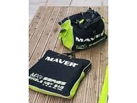 Maver MXI series carryall & net bag