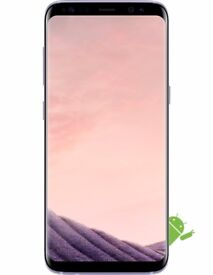 Brand New Unopened Samsung Galaxy S8 G950F Orchid Gray 64GB UNLOCKED 4G & Free 3D tempered Glass