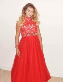Red Formal/Prom Dress size 14/16