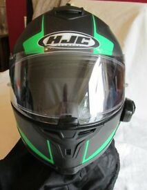 HJC Helmet with SENNA Bluetooth
