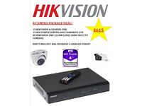 Attention business or shop owners 8 camera cctv package deal