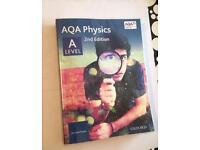 AQA Physics A level textbook, both years!