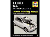 HAYNES FORD KA MANUAL 1996 - 2008 IN AS NEW CONDITION