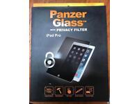 PanzerGlass iPad Pro 12.9 inch Privacy Glass Screen Protector. Brand new.