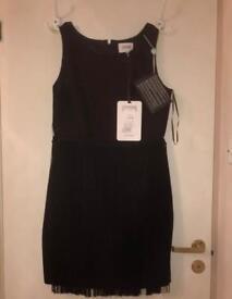 Black evening Ladies woman Dress size 10 Lucy