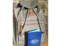 NEW Bric's X-Travel Backpack - Dove Grey, Authentic Italian bag