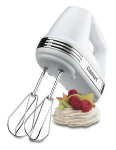 NEW Cuisinart HM-70C Power Advantage 7 Speed Hand Mixer - White