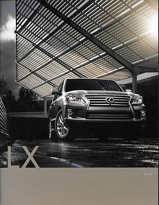 2013 13  Lexus LX original sales brochure