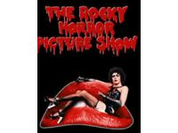 Rocky horror show 3 tickets for the last night at sunderland 2-2-19 20.30 row B
