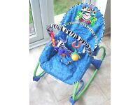 Fisher Price Infant to Toddler Rocker.