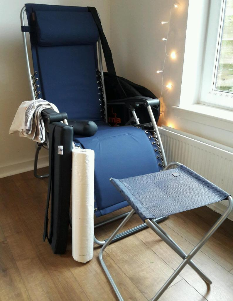 Beau LaFuma Reflexology / Therapy Chair And Accessories