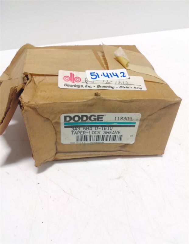 DODGE TAPER-LOCK SHEAVE 118309 NIB