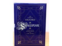 THE COMPLETE OXFORD SHAKESPEARE IN THREE VOLUMES (Histories, Comedies and Tragedies)