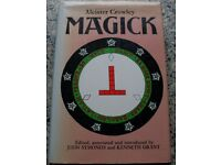 Magick - Aleister Crowley - Hardback (Symonds/Grant edition published 1988)