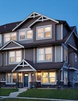 Win 3 months' rent 3 Bdr townhouse $1450 Double Garage Airdrie