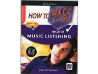 Music - How to Pass Higher Listening by Hodder Gibson with CD