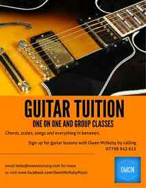 Acoustic Guitar Lessons for Beginners | One-one-One and Group Lessons