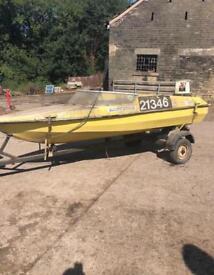 boat & trailer for sale