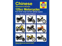HAYNES CHINESE, TAIWANESE & KOREAN 125cc MOTORCYCLES