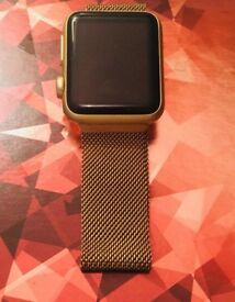 Apple Watch 1 Series & Charger - Rose Gold - Second Hand - Cash On Collection Only