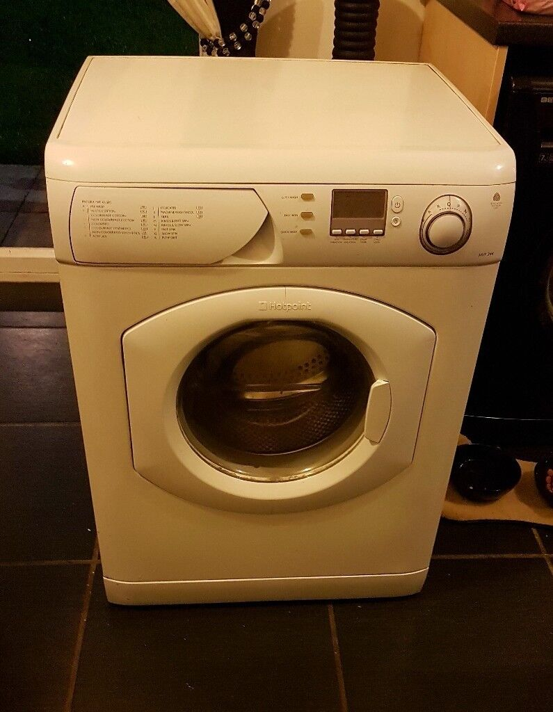 Washing machine hotpoint good condtion