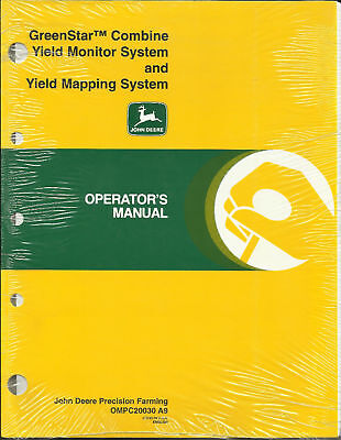 John Deere Greenstar Combine Yield Mon. And Mapping Sys