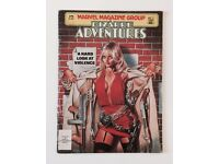 MARVEL MAGAZINE GROUP : BIZARRE ADVENTURES / VERY RARE COMIC / MAGAZINE