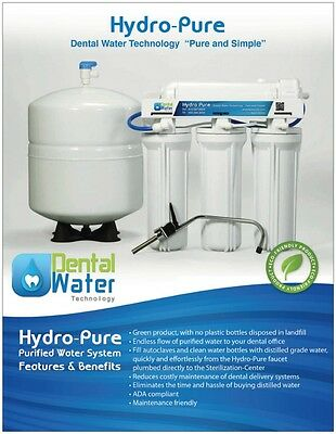 Dental Water Technology Dental Distiller Distilled Grade Water