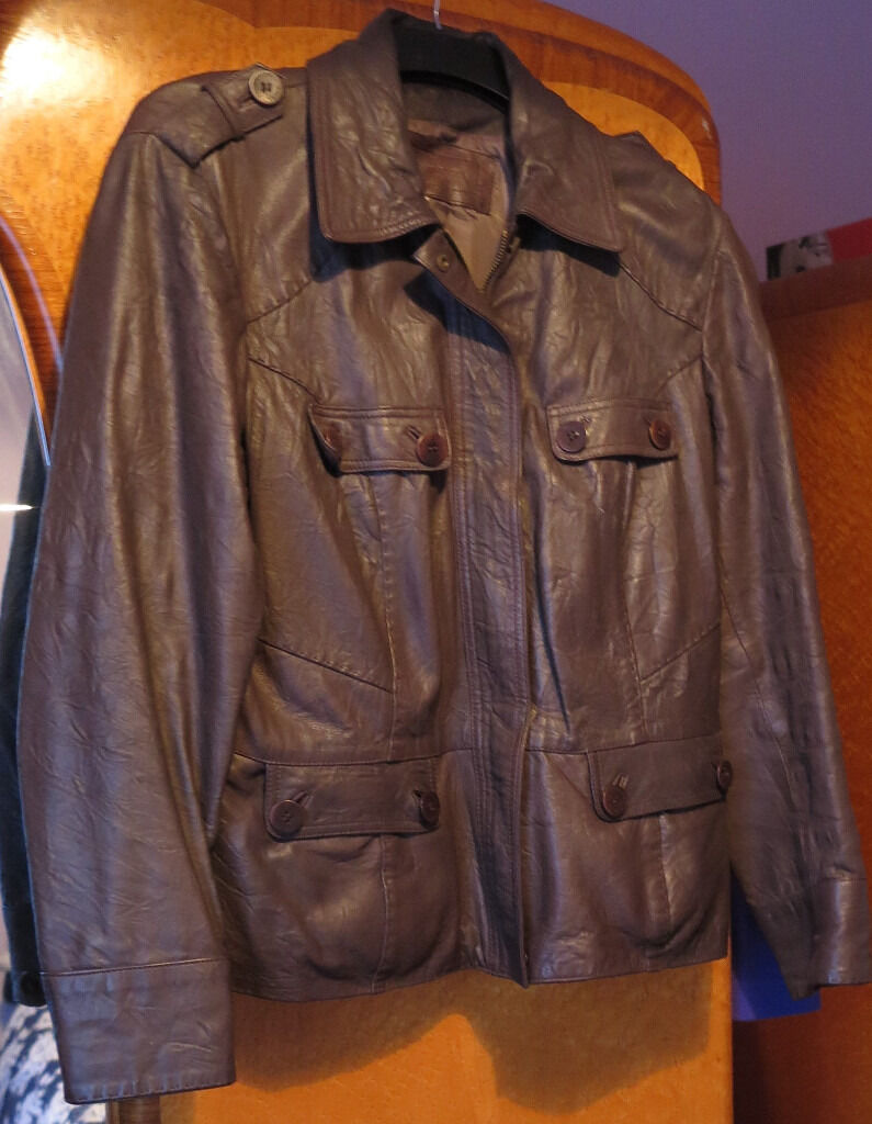 Leather jacket debenhams