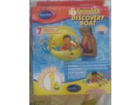 "Swimways"" COOL SPLASH FX DISCOVERY BOAT"" NEW IN ORIGINAL RETAIL PACKAGE"