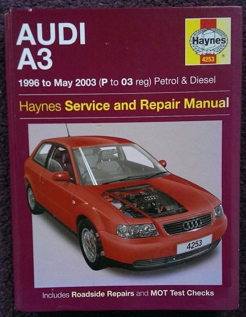 HAYNES AUDI A3 SERVICE & REPAIR MANUAL 1996-2003