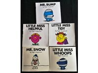 5 x Mr Men Books - £3 For All