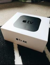 Apple tv 4k 32gb With recipt