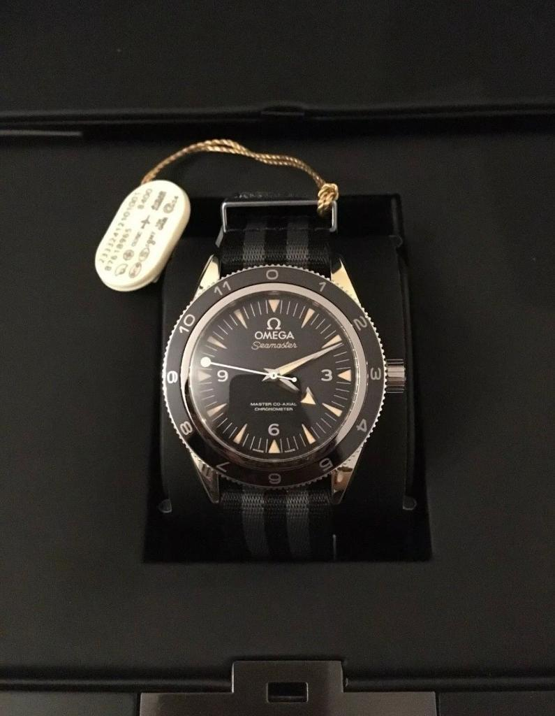 SEAMASTER 300 OMEGA MASTER CO-AXIAL 41 MM 'Spectre'   in Carlton,  Nottinghamshire   Gumtree