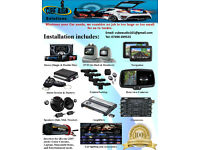 Car Audio, Light & Alarm System (Stereo, DVD, Navigation, Alarms, Speakers, Amplifiers)