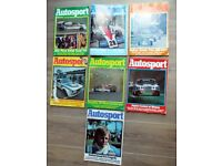 AUTOSPORT 1976, 1977 & 1978 Magazines - 7 in total but pay just for 5!