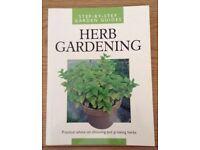 Step by Step Guide to Choosing & Growing Herbs Unused Book