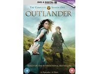 Outlander - complete series 1 DVD (6 discs) - NEW