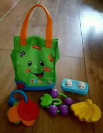 Fisher price laugh and learn tote bag