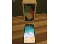 64GB Iphone X Phone w/Screen Protector/Box/Instructions. £350