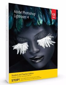Adobe Photoshop Lightroom 4, Student and Teacher Edition (Mac/PC)