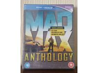 Mad Max Anthology Blu-Ray - Brand New