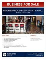 Northside Neighborhood Restaurant & Grill for Sale