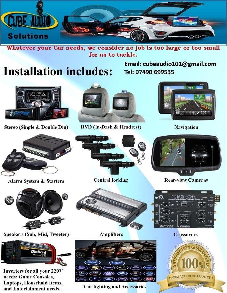 Car Audio, Light & Alarm System Installation (Stereo, DVD ...
