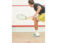 Looking for a squash partner in Swiss Cottage