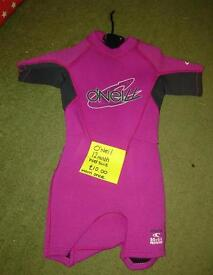 O'Neil wetsuit 12 month