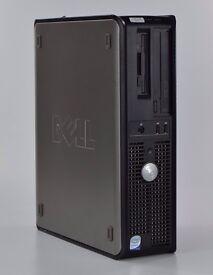 WINDOWS 7 DELL OPTIPLEX 320 INTEL DUAL CORE PC COMPUTER - 2GB RAM - 160GB