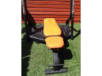 Commercial weight bench