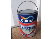 DULUX WEATHERSHIELD SMOOTH MASONRY PAINT 5 LITRES